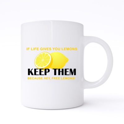 if life gives you lemons mug