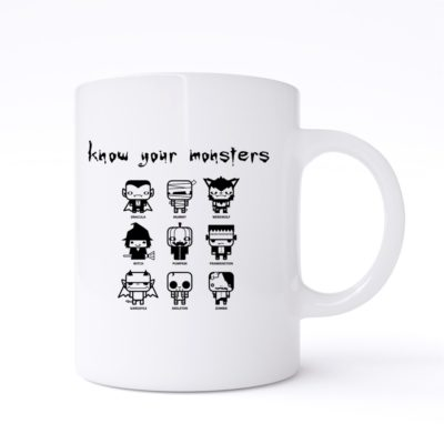 know your monsters mug