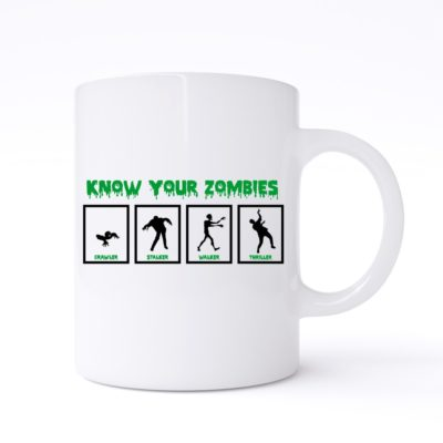 know your zombies mug