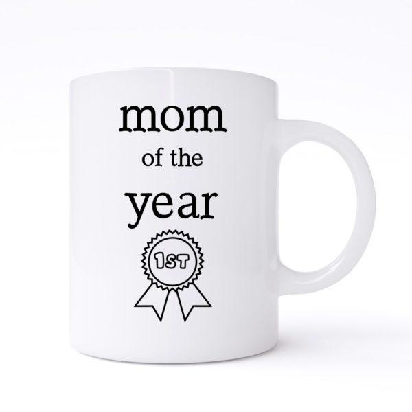 mom of the year mug