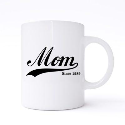 mom since mug