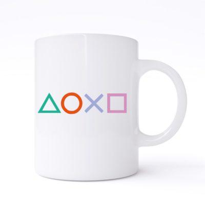 ps4 buttons mug
