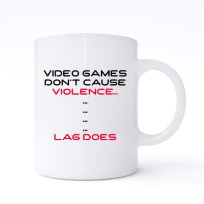 video game violence mug