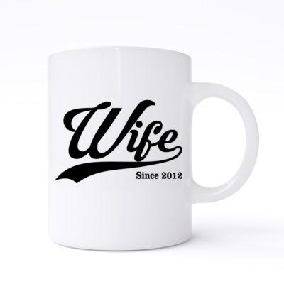 wife since mug