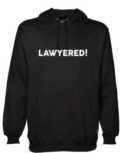 Lawyered Black Hoodie