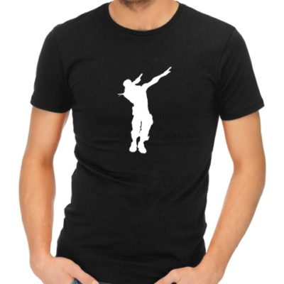 fornite dance 1 mens black shirt