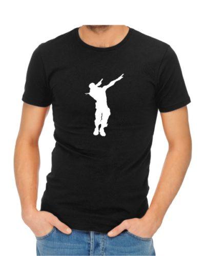 fornite dance 1 mens black shirt