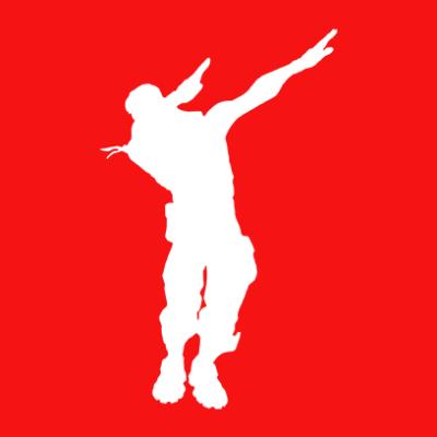 fortnite dab red square