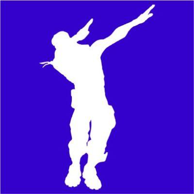 fortnite dance 1 royal blue