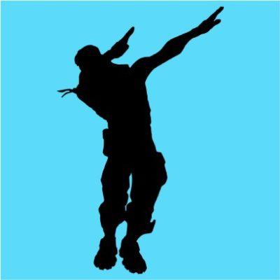 fortnite dance 1 sky blue