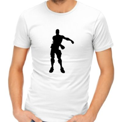 fortnite dance 2 mens white shirt