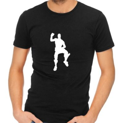 fortnite dance 3 mens black shirt