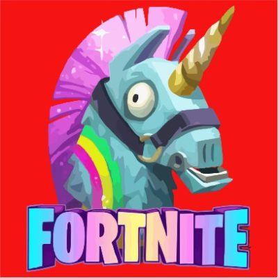 fortnite unicorn red