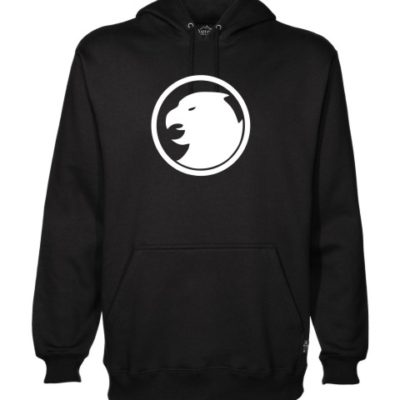 hawkman on black hoodie