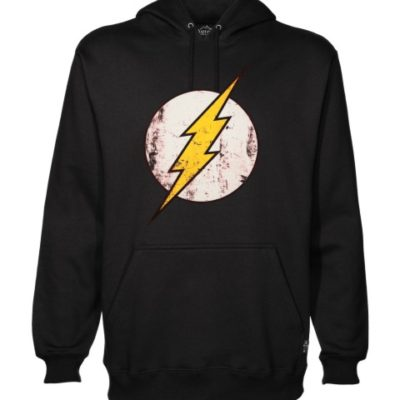 the flash black hoodie