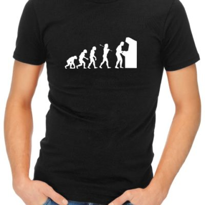 Arcade Evolution Mens Black Shirt