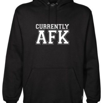 Away From Keyboard Black Hoodie