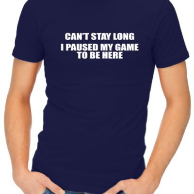 Can_t Stay Long Mens Navy Shirt