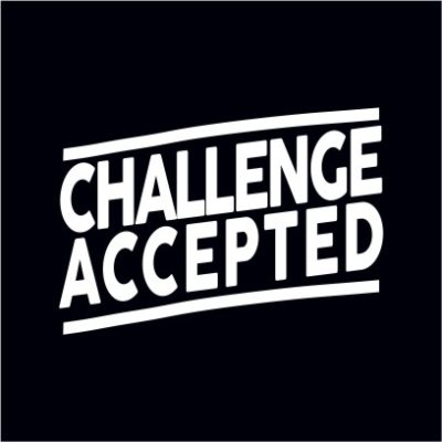 Challenge Accepted Black