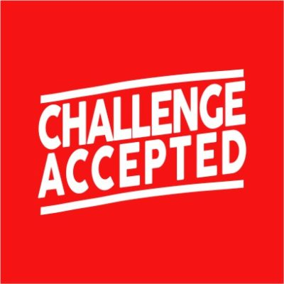 Challenge Accepted Red
