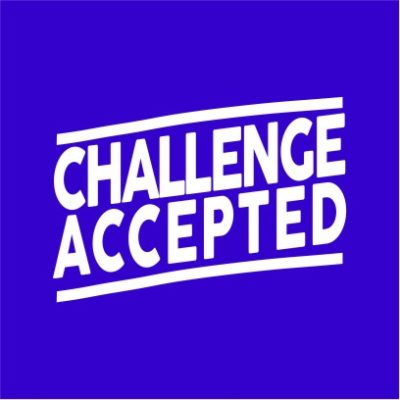 Challenge Accepted Royal Blue