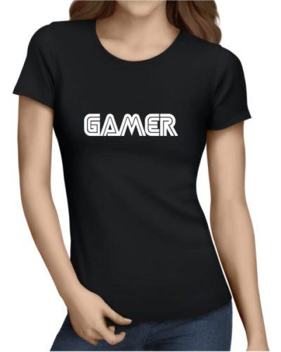 Gamer Ladies Black Shirt