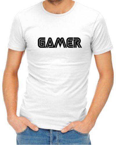 Gamer Mens White Shirt