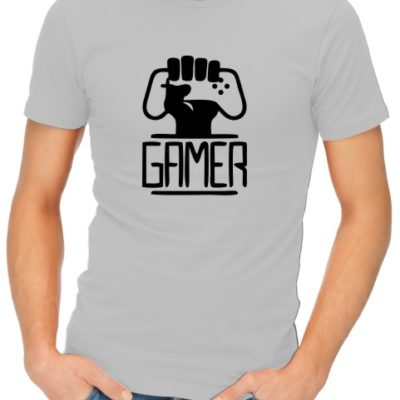 Gamer_s Unite Mens Grey Shirt