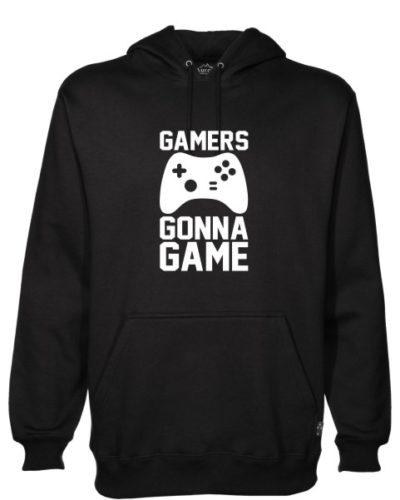 Gamers Gonna Game Black Hoodie