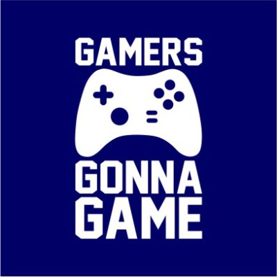 Gamers Gonna Game Navy