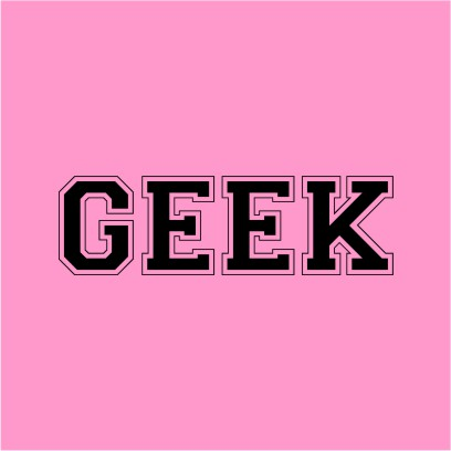 Geek Light Pink