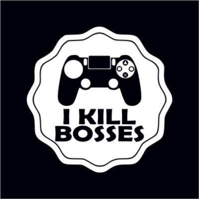 I Kill Bosses Black