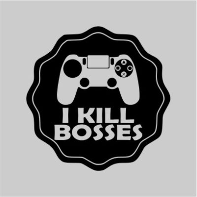 I Kill Bosses Grey