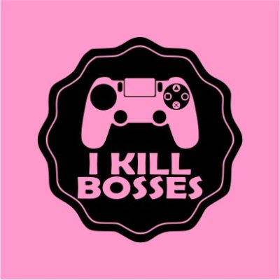 I Kill Bosses Light Pink