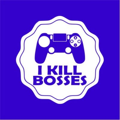 I Kill Bosses Royal Blue