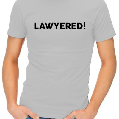 Lawyered Mens Grey Shirt