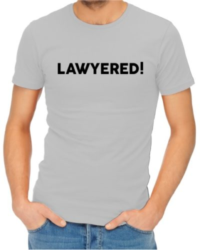 Lawyered Mens Grey Shirt