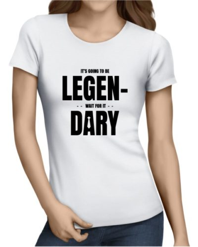 Legendary Ladies White Shirt