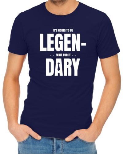 Legendary Mens Navy Shirt