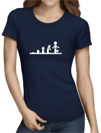 Lego Evolution Ladies Navy Shirt
