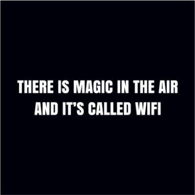 Magic In The Air Black