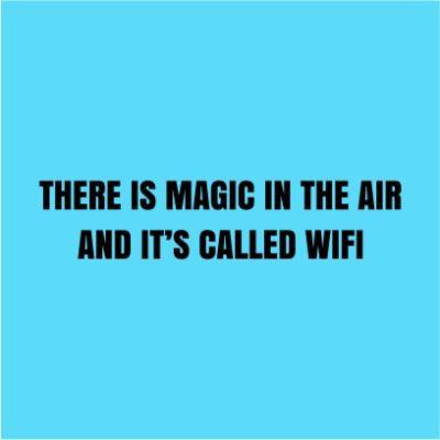 Magic In The Air Sky Blue