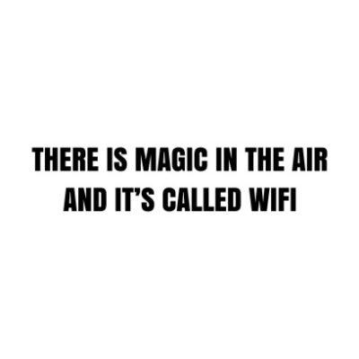 Magic In The Air White