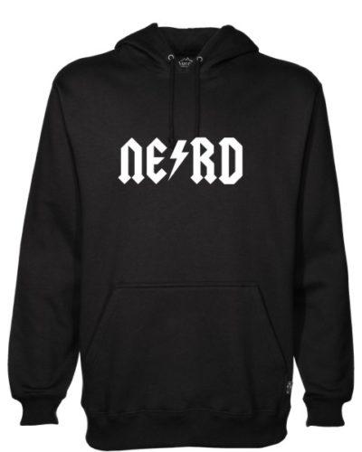 Nerd 1 Black Hoodie