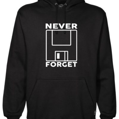 Never Forget 1 Black Hoodie