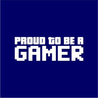 Proud To Be A Gamer Navy