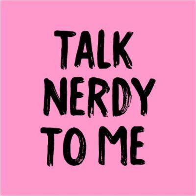Talk Nerdy To Me Light Pink