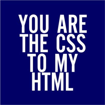 The CSS To My HTML Navy