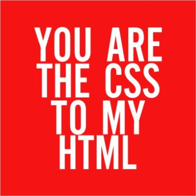 The CSS To My HTML Red