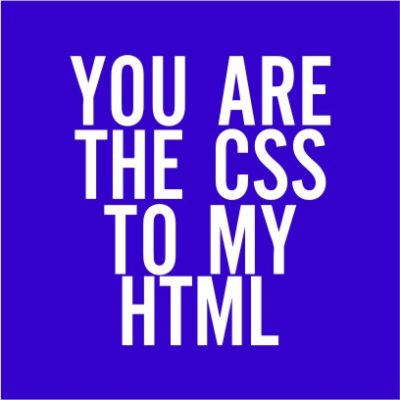 The CSS To My HTML Royal Blue